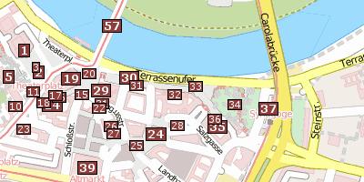 Cityguide Dresden Bruhlsche Terrasse Infos Bilder
