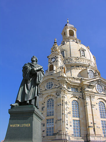 Fotos Martin Luther Denkmal an der Frauenkirche